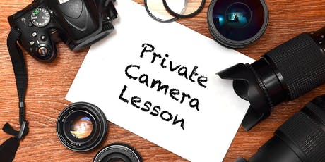 Private Photography and Camera Lessons in August tickets