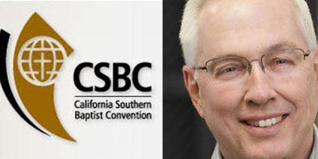 """""""Step Up! Challenge Meeting"""" with Dr. Bill Agee, Executive Director of CSBC tickets"""