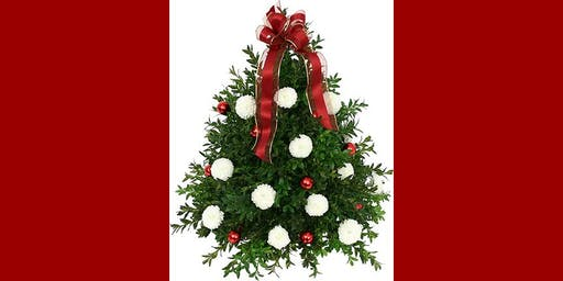 SOLD OUT - Holiday Boxwood Tree
