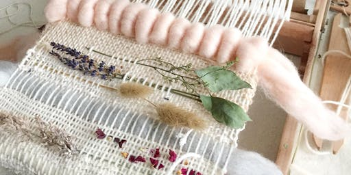 Weave a Wall Hanging using Flowers- September 8, 2019 from 1-4 pm