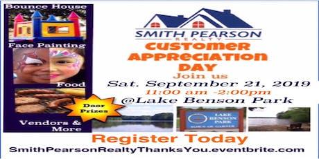 Smith Pearson Realty Customer Appreciation Event 2019 tickets