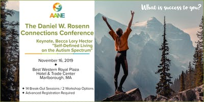 Becca Lory Hector at AANE's Daniel W. Rosenn Connections Conference
