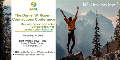 Becca Lory Hector at AANE's Daniel W. Rosenn Connections Conference tickets