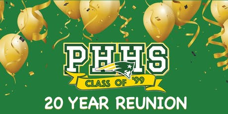 Patrick Henry High School -  We're Gonna Party Like It's 1999 Class Reunion tickets