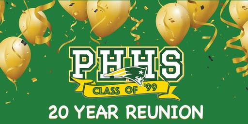 Patrick Henry High School -  We're Gonna Party Like It's 1999 Class Reunion