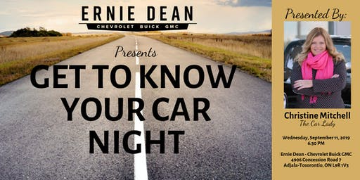 Know Your Car Night