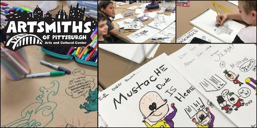 Learn Cartooning with George Broderick (3-week class)