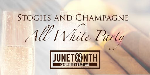 Stogies and Champagne All White Party