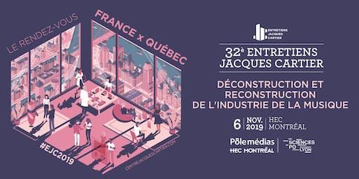 DÉCONSTRUCTION ET RECONSTRUCTION DE L'INDUSTRIE DE LA MUSIQUE   #EJC2019