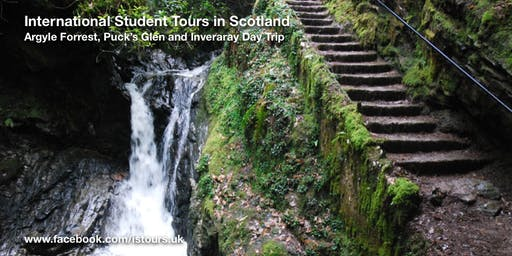 Argyll Forrest, Puck's Glen and Inveraray Day Tour Sat 9 Nov