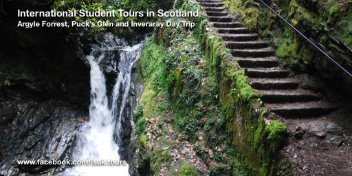 Argyle Forrest, Puck's Glen and Inveraray Day Tour Sat 9 Nov