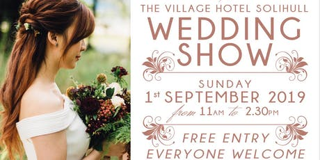 The Village Hotel Solihull Autumn Wedding Show tickets