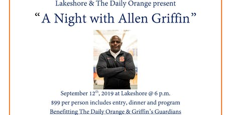 """A Night With Allen Griffin"" tickets"