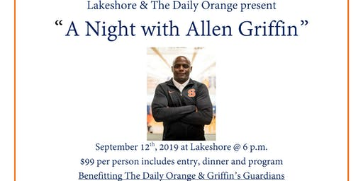 """A Night With Allen Griffin"""