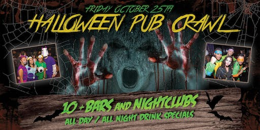 LONG BEACH PRE HALLOWEEN PUB CRAWL - OCT 25th
