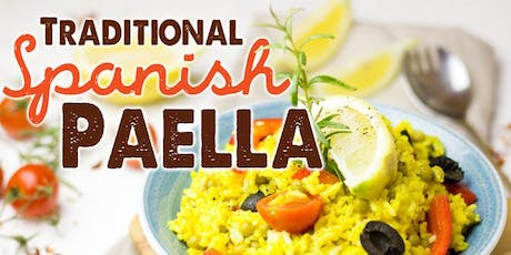 Free Cooking Class: Traditional Spanish Paella tickets