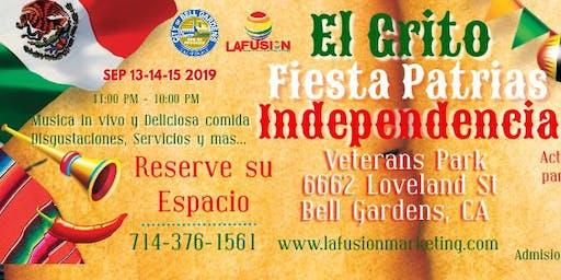 El Grito Fiestas Patrias de Independencias Bell Gardens, CA