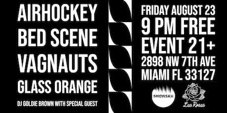 Indie-Rock Night: Bed Scene, Air Hockey, Vagnauts, Glass Orange, & DJ Goldie Brown tickets