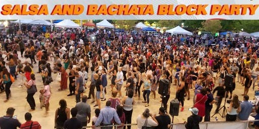 Salsa & Bachata Block Party (Free Admission)