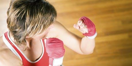 FITNESS POUR FEMMES (Avec thématique d'autodéfense) Passe d'accès pour 10 cours billets