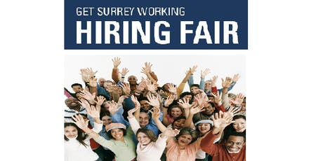 GET SURREY WORKING HIRING FAIR  tickets