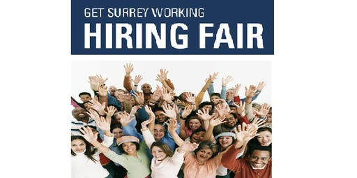GET SURREY WORKING HIRING FAIR