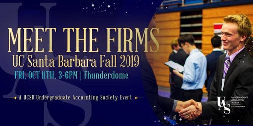UCSB Meet the Firms 2019 - Student Registration & Ticket