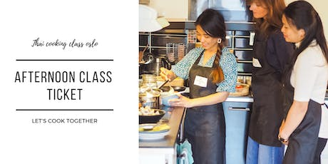 Thai Cooking Class Oslo - Afternoon Class tickets