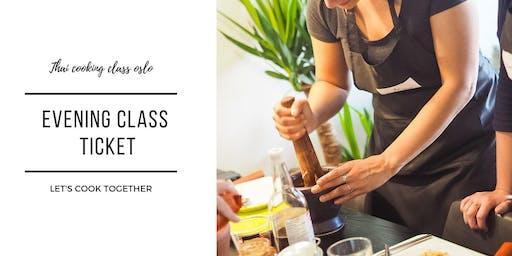 Thai Cooking Class Oslo - Evening Class