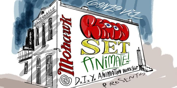 Ready, Set, Animate! A DIY animation workshop for all creative skill levels