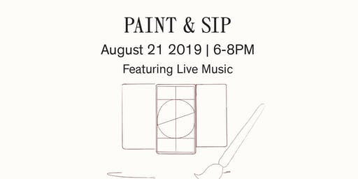 "Paint And Sip with ""Wine of a Kind""- August"