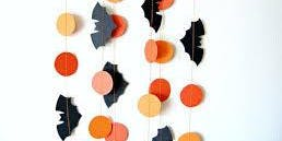 Spooky Paper Garlands and Paper Art