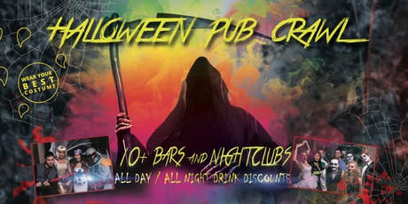 Los Angeles Halloween Night Pub Crawl - Thursday Oct 31st tickets