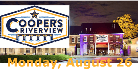 Cooper's Riverview ~ Singles Summer Mix & Mingle, Featuring Live Entertainment with Networking Icebreaker Format, 190826 Lmod tickets