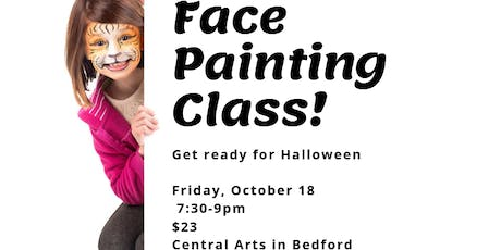 Face Painting Class/Bedford tickets