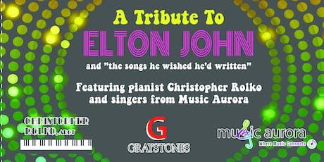 A Tribute to Elton John  tickets