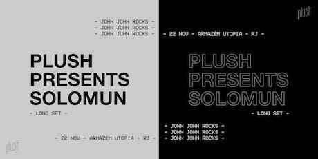 Plush Presents Solomun ingressos