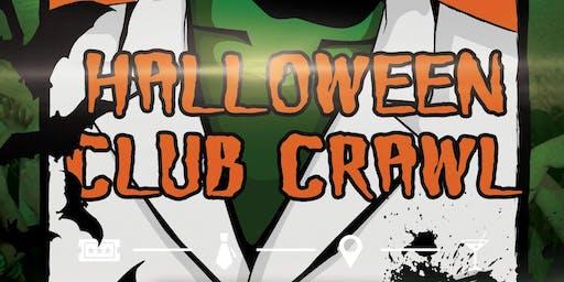 HOLLYWOOD HALLOWEEN COSTUME CLUB CRAWL - OCT 25th