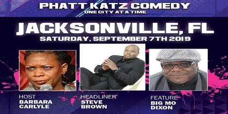 JACKSONVILLE, FL- Phatt Katz Comedy: One City at a Time tickets