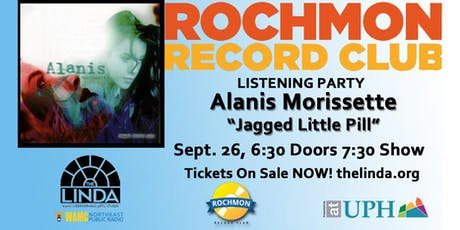 "Rochmon Record Club | Alanis Morissette ""Jagged Little Pill"" Listening Party tickets"