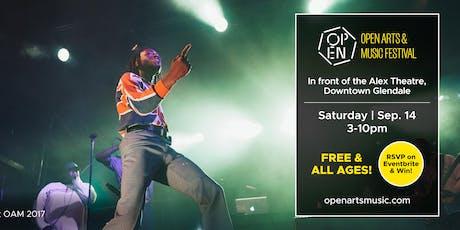 Open Arts & Music Festival  tickets