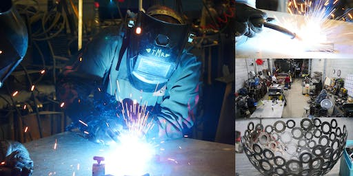 The Art of Welding — Hands-On Welding Tour & Demo @ Metal Shop Fantasy Camp