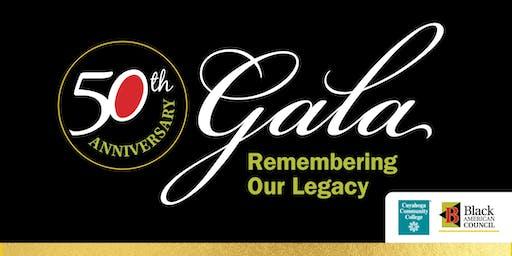 Black American Council 50th Anniversary Gala Event
