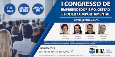 I CONGRESSO DE EMPREENDEDORISMO, GESTÃO E PODER COMPORTAMENTAL