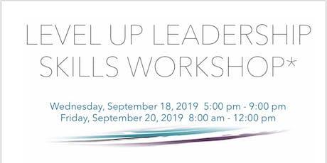 Level Up Leadership Skills Morning Workshop tickets