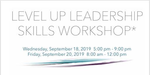 Level Up Leadership Skills Evening Workshop