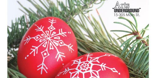 Pysanky Ornaments   1st Session