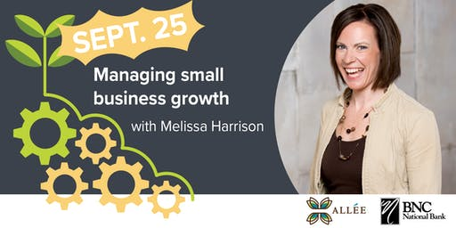 Managing small business growth
