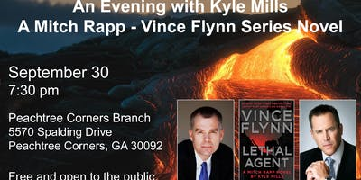 An Evening with Kyle Mills:  A Mitch Rapp – Vince Flynn Series Novel