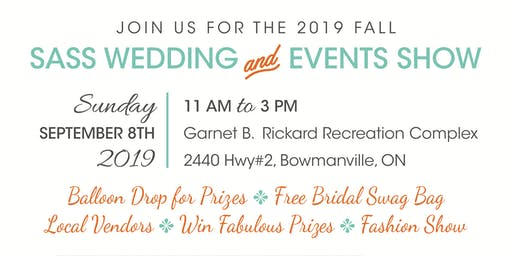 Sass Fall Wedding & Event Show